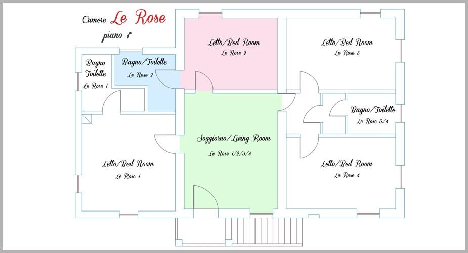 Le Rose2_5piantina