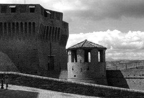 Het fort van Mondavio